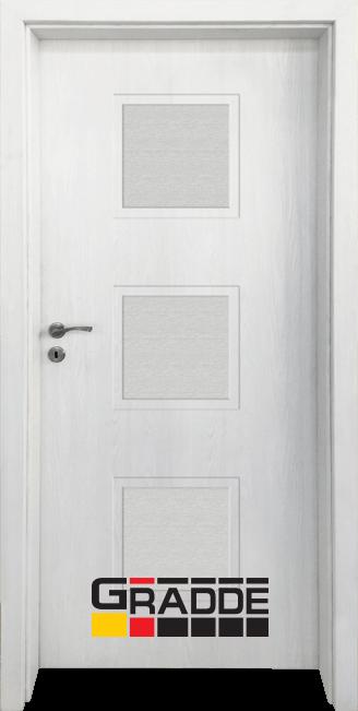 Интериорна HDF врата, модел Gradde Bergedorf, Сибирска Лиственица