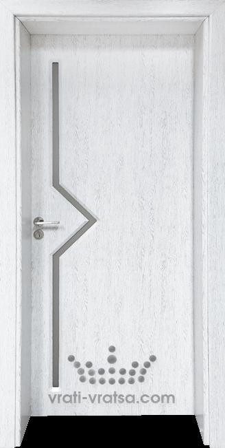 Интериорна врата Гама 201, цвят Бреза