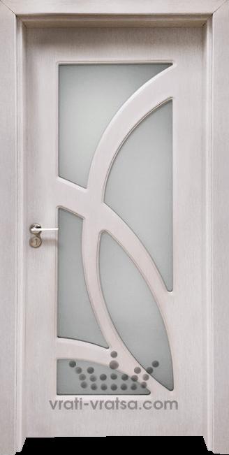 Интериорна врата Гама 208, цвят Перла